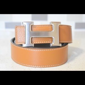 Fashion Belt with H buckle